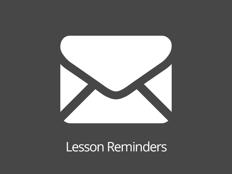 Lesson Reminders