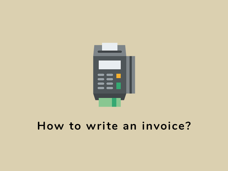 How to write and send an invoice?