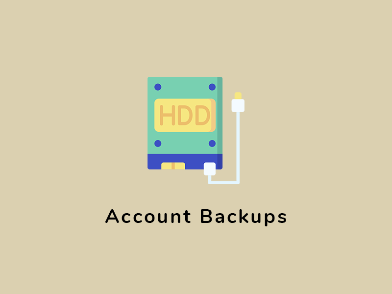 Account Backups