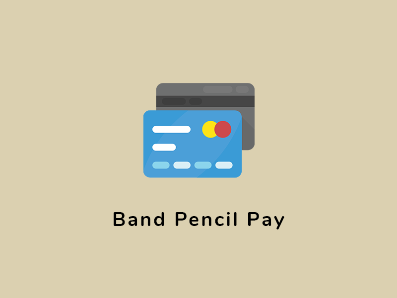 How to accept payments on Band Pencil