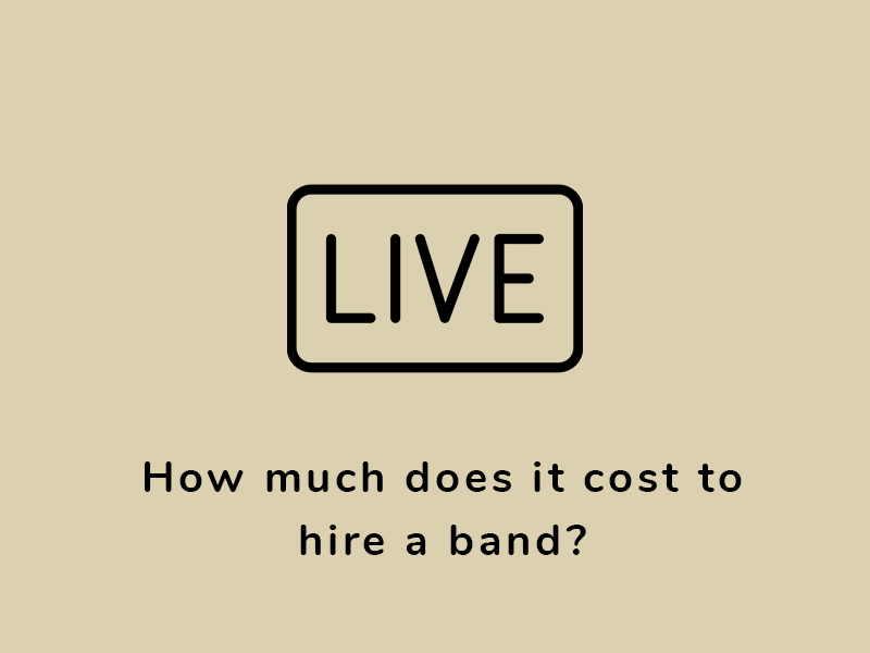 How much does it cost to hire a band?